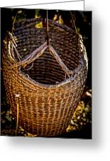 Just A Basket Greeting Card