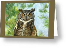 Just A Hoot Greeting Card