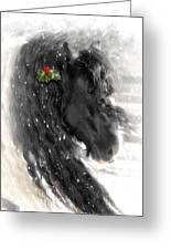 Just A Little Holly Will Do Greeting Card