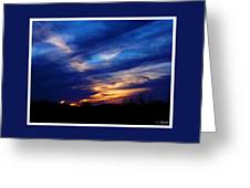 Just About Night Greeting Card