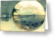 Just Another Pier II Greeting Card