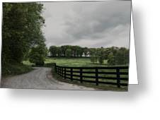 Just Around The Bend Greeting Card by Tanya Jacobson-Smith