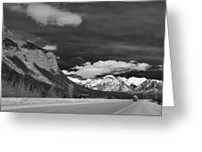 Just Before Banff Greeting Card