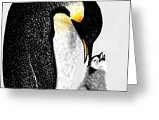 Just Chillin' By Lcs Greeting Card by LCS Art