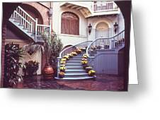 Just Follow The Stairs Greeting Card