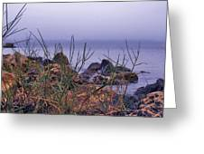 Just Over The Rocks Greeting Card
