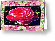 Just Rosy Greeting Card