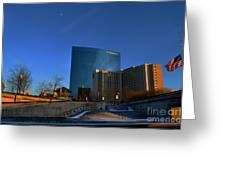 Jw Marriott On The Canal Indianapolis Greeting Card