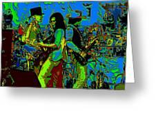 Jwinter #16 In Cosmicolors Greeting Card