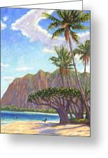 Kaaawa Beach - Oahu Greeting Card