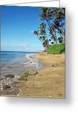 Ka'anapali Beach Greeting Card