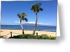 Kaanapali Maui Greeting Card