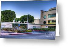 Kabc 7 Studio Burbank Glendale Ca Greeting Card