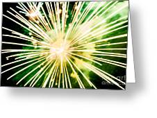 Kaboom Greeting Card by Suzanne Luft