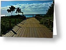 Kahanapali Beach Walk Greeting Card