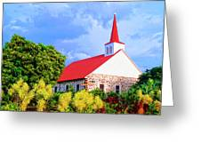 Kahikolu Congregational Greeting Card