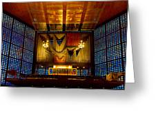 Kaiser Wilhelm Church Organ Greeting Card