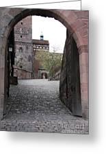 Kaiserburg - Nuremberg Greeting Card
