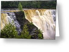 Kakabeka Falls On The Kaministiquia River Greeting Card
