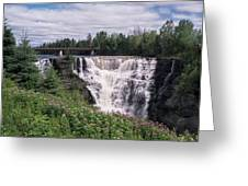 Kakabeka Falls Greeting Card