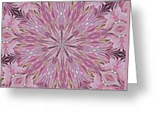 Kaleidoscope 10 Greeting Card