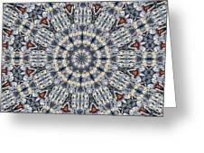Kaleidoscope 29 Greeting Card