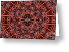 Kaleidoscope 38 Greeting Card