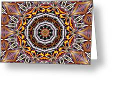 Kaleidoscope 41 Greeting Card