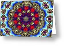 Kaleidoscope 51 Greeting Card