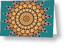 Kaleidoscope 7 Greeting Card