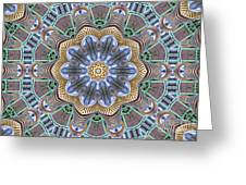 Kaleidoscope 73 Greeting Card