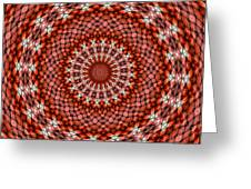 Kaleidoscope 8 Greeting Card
