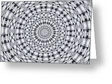 Kaleidoscope 9 Greeting Card