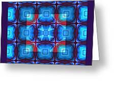 Kaleidoscope Combo 10 Greeting Card