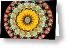 Kaleidoscope Ernst Haeckl Sea Life Series Greeting Card