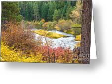 Sprague River Oregon Greeting Card