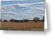Kalgoorlie Countryside Greeting Card