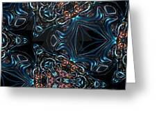 Kalidescope Abstract Fx Greeting Card