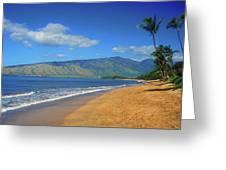 Kamole Beach Kihei Maui Hawaii Greeting Card
