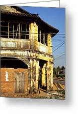 Kampot Old Colonial 03 Greeting Card