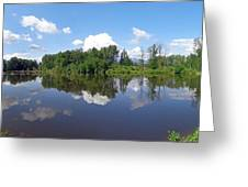 Kanaka Creek Rising - Maple Ridge, British Columbia Greeting Card