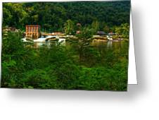 Kanawha Falls Greeting Card