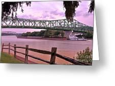 Kanawha River  Greeting Card