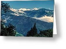 Kanchenjunga Greeting Card