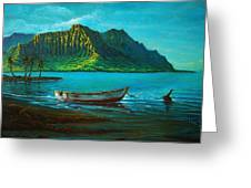 Kaneohe Bay Early Morn 1 Greeting Card