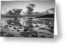Kaneohe Bay Greeting Card by Tin Lung Chao