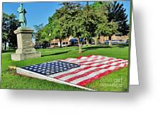 Kankakee Union Soldiers Memorial Greeting Card