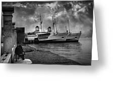Kanlica Greeting Card by Taylan Apukovska