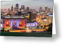 Kansas City 2 Greeting Card