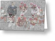 Kansas City Chiefs Legends Greeting Card